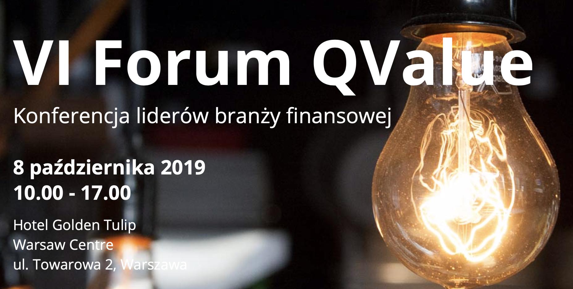 VI Forum Q Value – 08.10.2019, Hotel Golden Tulip Warsaw Center